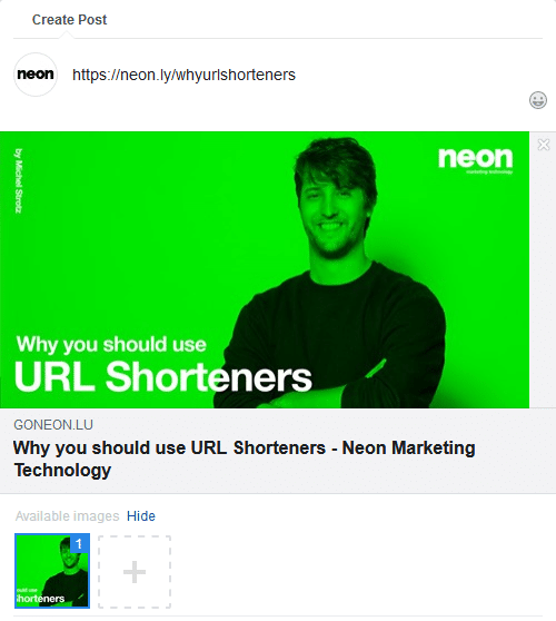 Why you should use URL Shorteners - Neon Marketing Technology