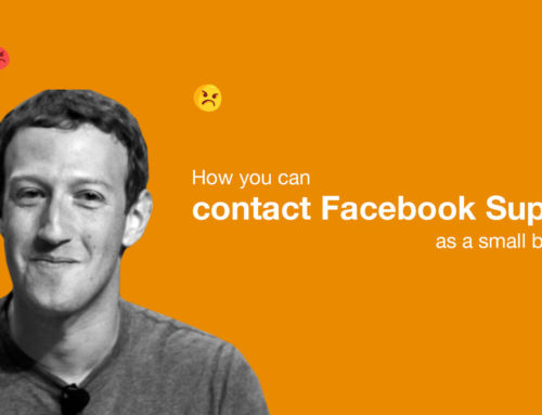 How you can contact Facebook Support as a small business
