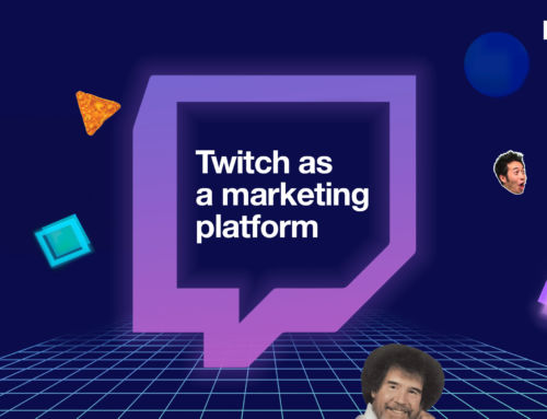Twitch as a marketing platform