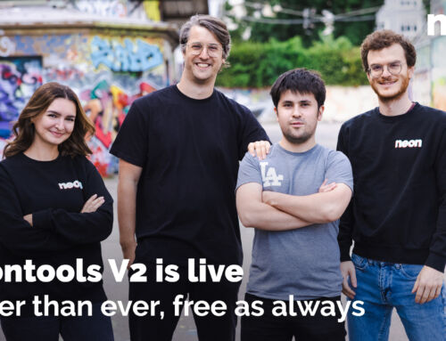 NEONTOOLS V2 is live – Better than ever, free as always